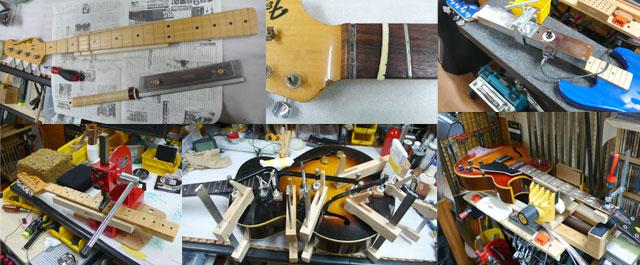 エレクトリックギターリペア事例